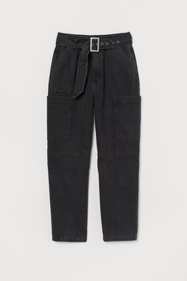 H&M Utility Jeans - Gray