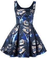 Philipp Plein 'Do Ut Des' catwoman dress