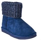 Lamo Suede Water Resistant Boots w/ SweaterCuff - Empire