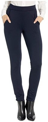 Hue Ponte 7/8 Leggings (Black) Women's Casual Pants