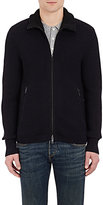 Rag & Bone Men's Mitchell Zip-Front Cardigan-NAVY