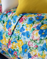Ralph Lauren Home King 300TC Ashlyn Floral Flat Sheet