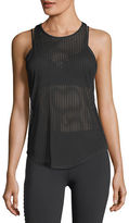 Alo Yoga Essence Striped Semisheer Performance Tank