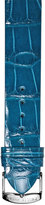 Philip Stein Teslar 18mm Alligator Watch Strap, Teal