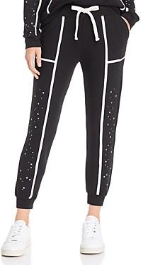 Monrow Star-Panel Sweatpants