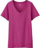Uniqlo Women's Supima(R) Cotton V-Neck T-Shirt