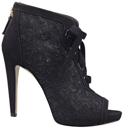 Nine West Enetta Peep-Toe Booties