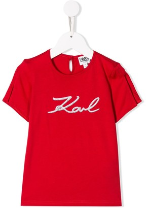 Karl Lagerfeld Paris Signature T-shirt