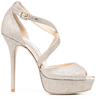 Jimmy Choo Jenique 125mm platform sandals