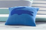 Lacoste Molleton Pillow - 16 x 16 - Blue