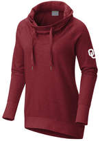 Columbia Women's Oklahoma Sooners Down Time Hooded Tunic