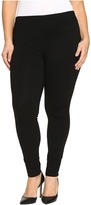 Hue Plus Size Ponte Leggings Women's Casual Pants