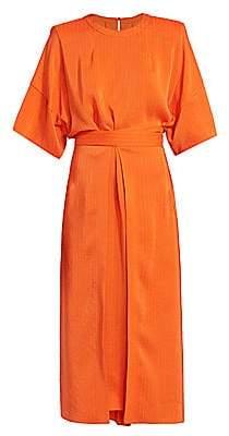 Stella McCartney Women's Penelope Belted Midi Dress