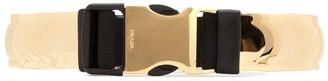 Prada Metallic Elasticizied Belt