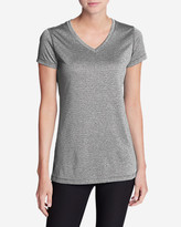 Eddie Bauer Women's Resolution V-Neck Shirt - Striped
