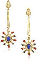 Azaara Florentine Delicate Lapis Drop Earrings