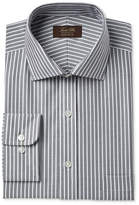 Tasso Elba Men's Classic/Regular Fit Non-Iron Twill Bar Stripe Dress Shirt, Created for Macy's