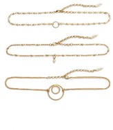 Luv Aj Women's Trinity Set Of Three Choker Necklaces