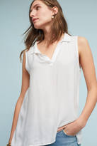 Cloth & Stone High-Low Henley Top