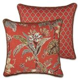 Rose Tree Durelme 18-Inch Square Throw Pillow in Red