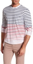 Heritage Stripe Print Slim Fit Long Sleeve Shirt