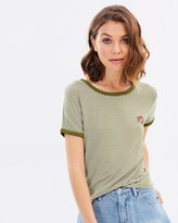 All About Eve Weekend Ringer Tee