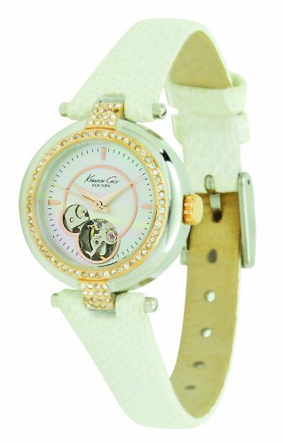 Kenneth Cole New York Women's KC2529 Blush Hour Automatic Leather Watch