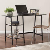 Asstd National Brand Modern Life Furniture Metal/Glass Sawhorse/A-Frame Writing Desk