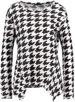 Sisley Jumper black/white