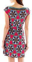 Nicole Miller nicole by Faux-Wrap Dress