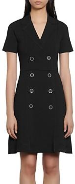Sandro Syana Coat Dress