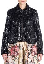 Fendi Cermanic Leather Jacket