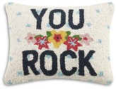 "Peking Handicraft You Rock Decorative Pillow, 12"" x 16"""