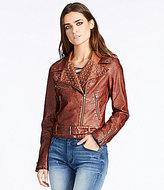 William Rast Kate Faux-Leather Moto Jacket