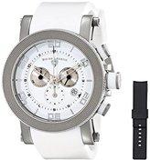 Swiss Legend Men's 30465-02-WHT Cyclone Analog Display Swiss Quartz White Watch