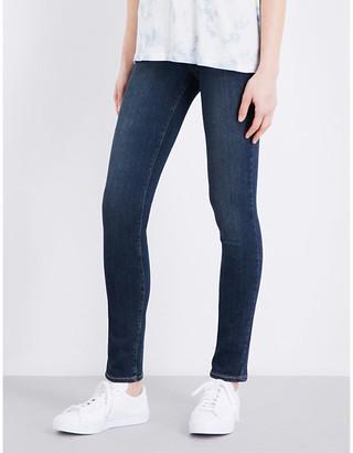 Paige Denim Women's Blue Skyline Skinny Mid-Rise Jeans, Size: 27