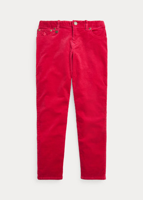 Ralph Lauren Skinny Fit Stretch Corduroy Pant