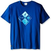 Lrg Men's Big-Tall Research Collection Clustered Front T-Shirt