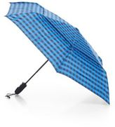 ShedRain Check-Print Auto-Open Folding Umbrella