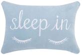 Phi Sleep In Embroidered Velvet Pillow