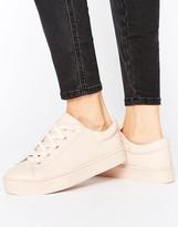 Monki Lace Up Flatform Sneaker
