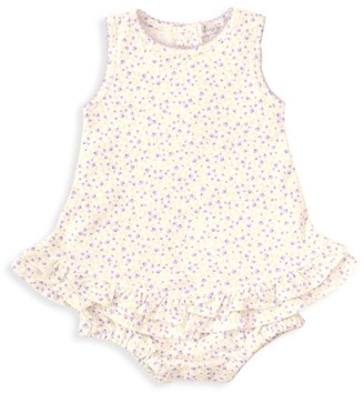 Kissy Kissy Baby Girl's Spring Whispers Floral Bubble Dress
