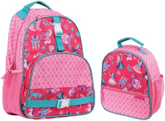 Stephen Joseph Princess Backpack & Lunchbox