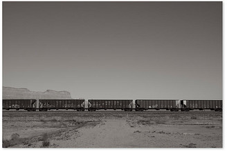 "Drew Doggett Photography Drew Doggett - Union Pacific paper size, 24""L x 33""W; image size, 18""L x 27""W"