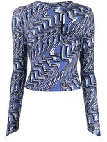 Thumbnail for your product : MAISIE WILEN Abstract Print Top