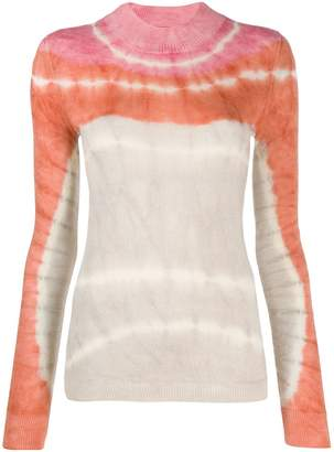 Missoni fitted tie-dye pullover
