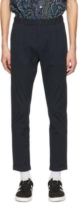 Paul Smith Navy Seersucker Trousers