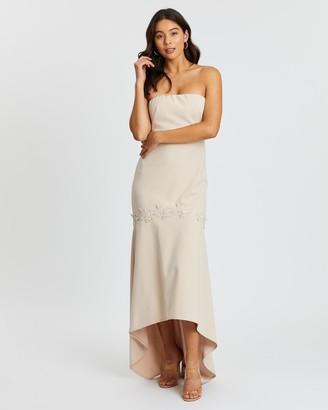 Romance By Honey And Beau Vicinity Strapless Midi Dress