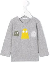 Il Gufo monster patch T-shirt - kids - Cotton/Spandex/Elastane - 9 mth