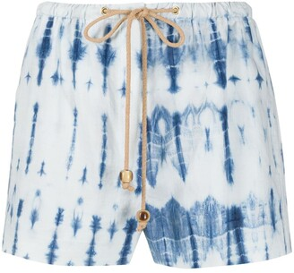 Nanushka Febe pyjama-style shorts